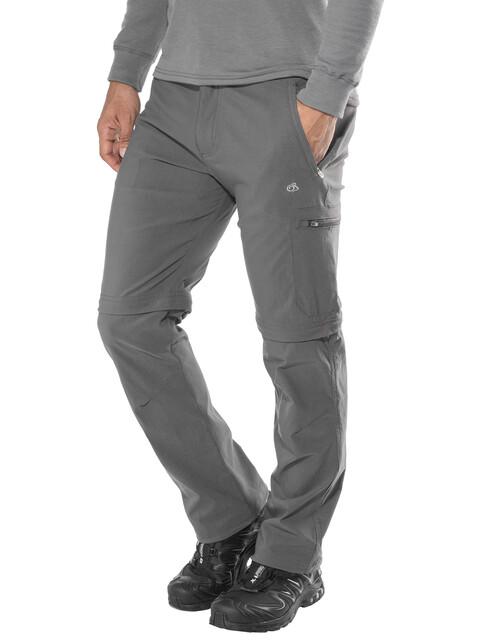 Craghoppers NosiLife Pro Convertible - Pantalon long Homme - gris